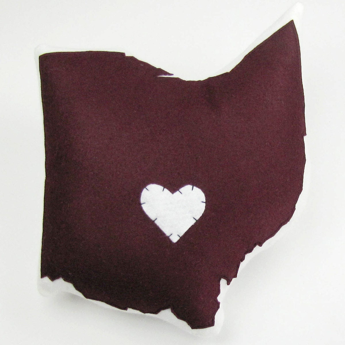 Customizable Ohio State Pillow