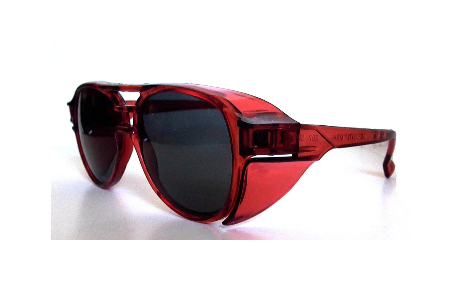 Red Aviator Sunglasses Vintage Aviators Red Pilot By Sunnyspex