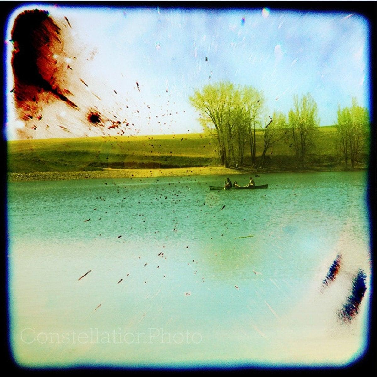 Gone Fishin'.............8x8 Fine Art Photo.......... by Amanda Graham