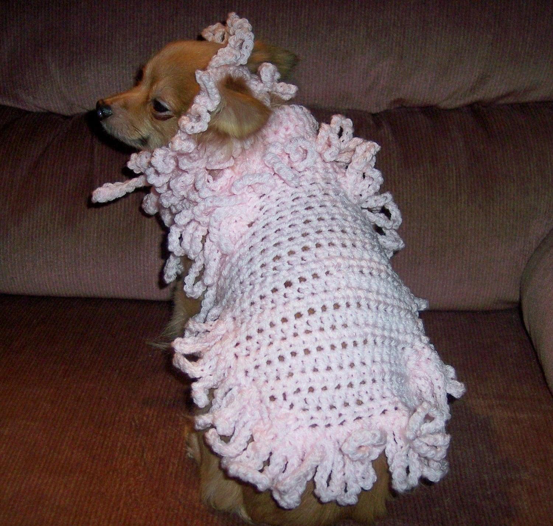 CROCHET DOG CLOTHES PATTERNS FREE PATTERNS