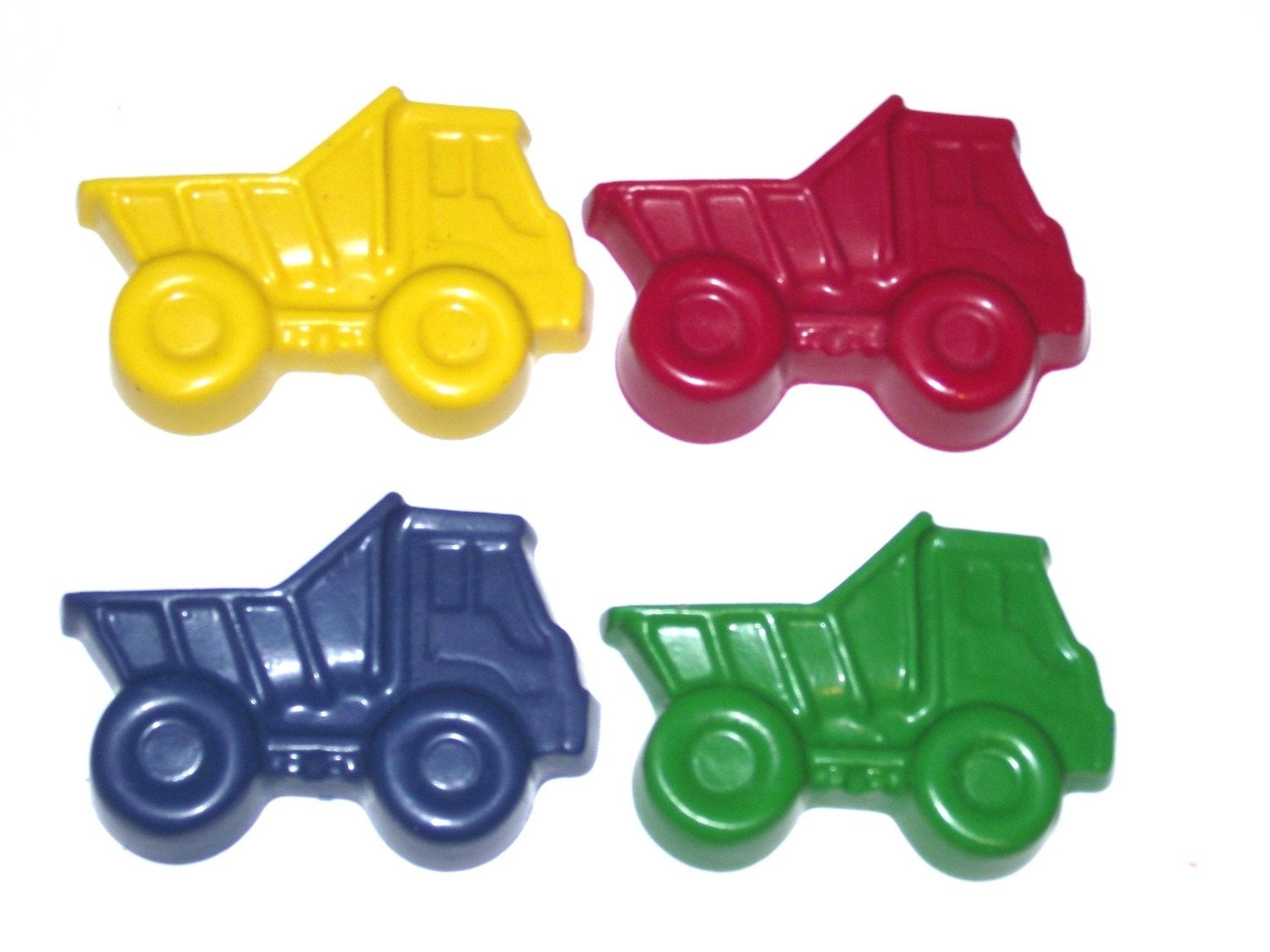 Chunky Dump Truck Scribblers -Set of (4) 2nd Chance Crayons