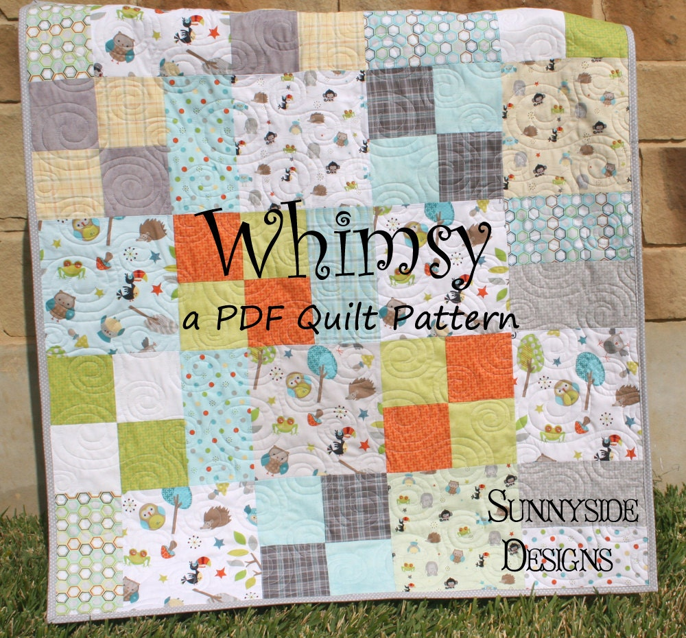 Easy Quilt Patterns Using Layer Cakes : Unavailable Listing on Etsy