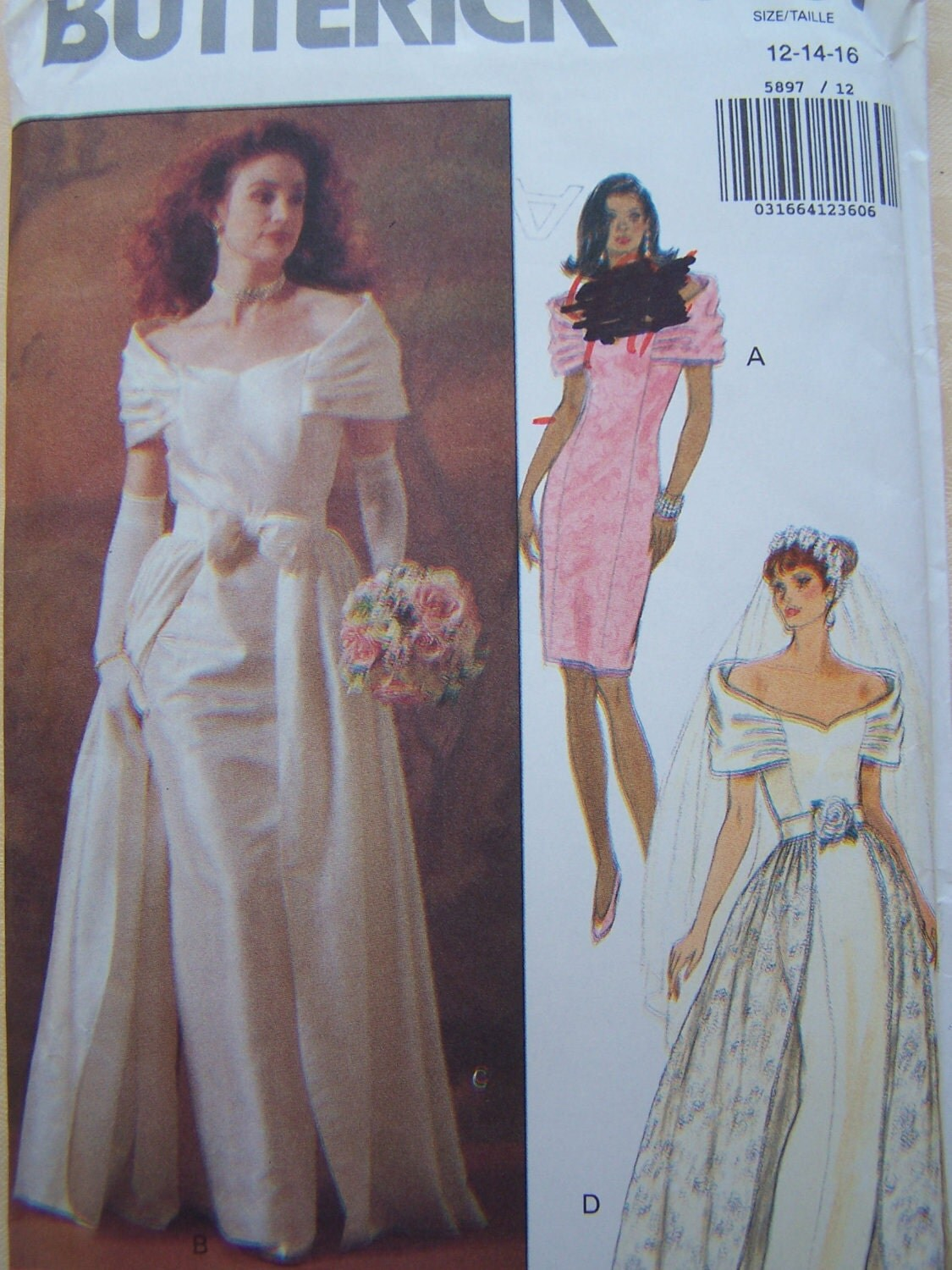 Clearance Bridal Gown Sewing Pattern With By Witsenddesign