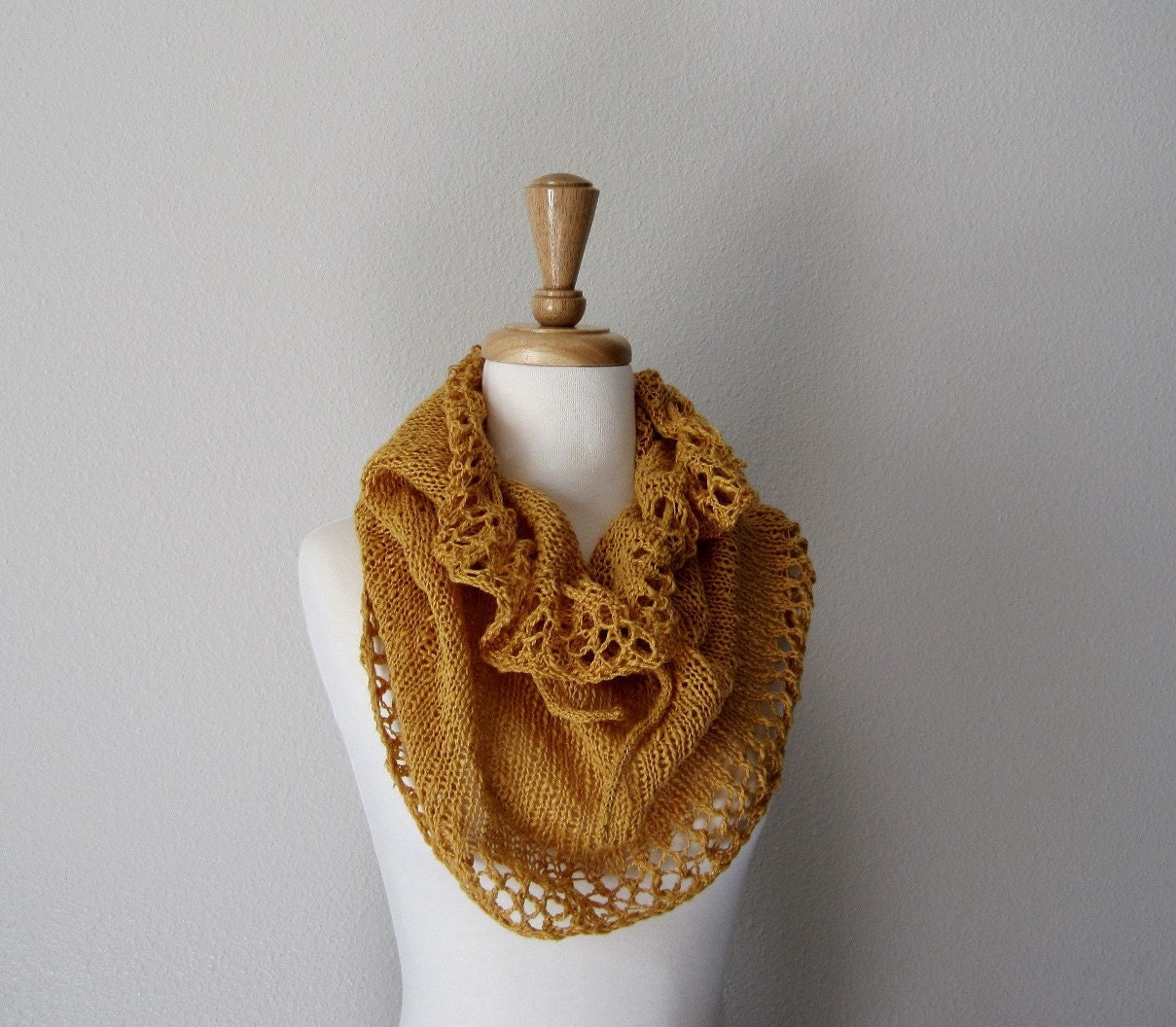 The Conversion Cowl - Hand Knit Snood, Cowl, Skirt, or Capelet