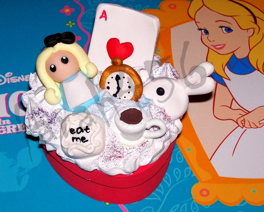 Alice in Wonderland cute deco den box