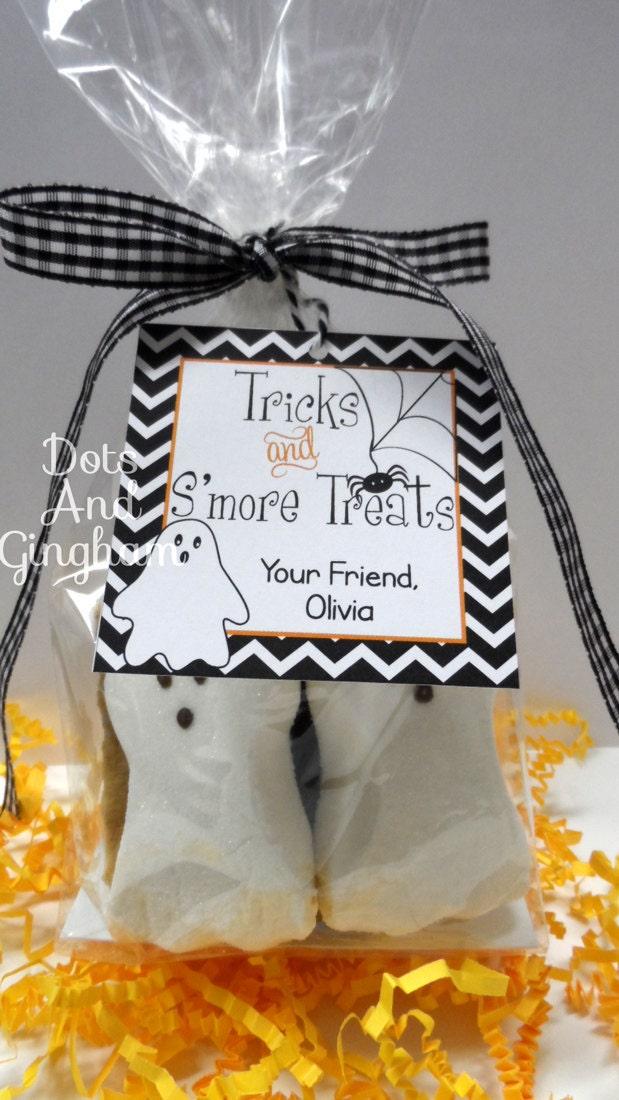 ... Halloween Smores-Smores Kit Printable-Boy Halloween-Halloween Tag