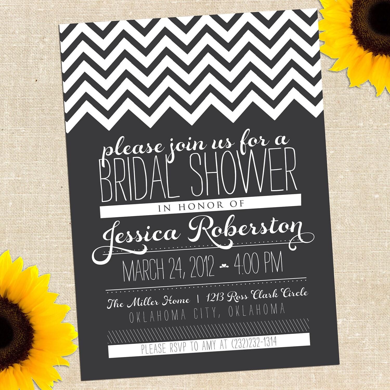 MEMORIAL DAY SALE Chalkboard Bridal Shower By