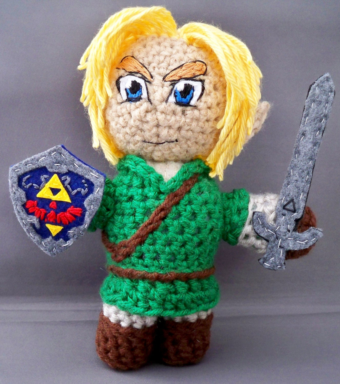Zelda Amigurumi Doll : Link of Legend of Zelda amigurumi by LLsCreations83 on Etsy
