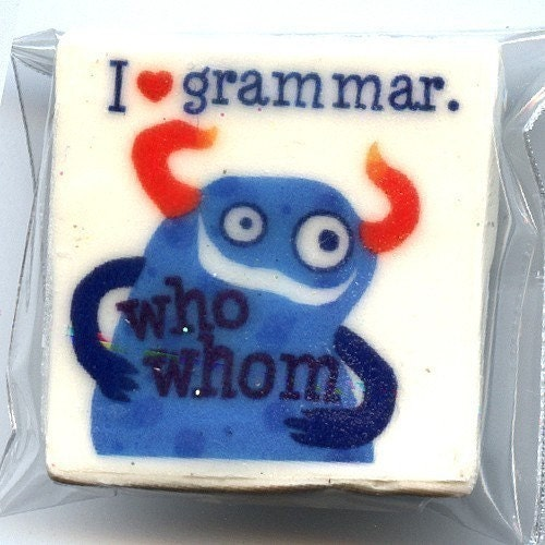 I love grammar monster