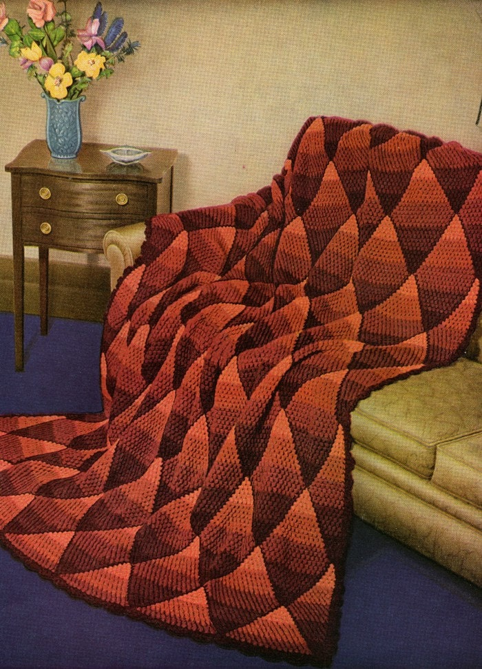 Crochet Patterns Navajo Afghan : +Navajo+Crochet+Patterns DIAMOND PATTERN AFGHAN TO CROCHET - Crochet ...