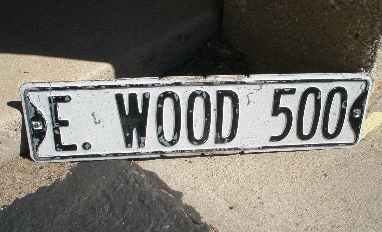A drive down Wood Drive