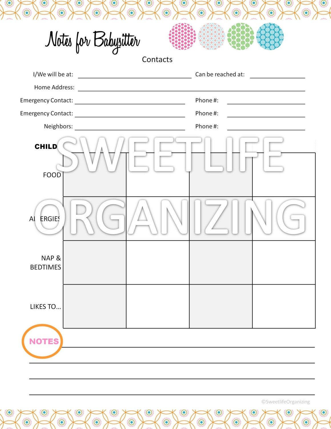 Worksheets Babysitting Worksheets babysitting worksheets images reverse search filename il fullxfull 445041244 p4o8 jpg
