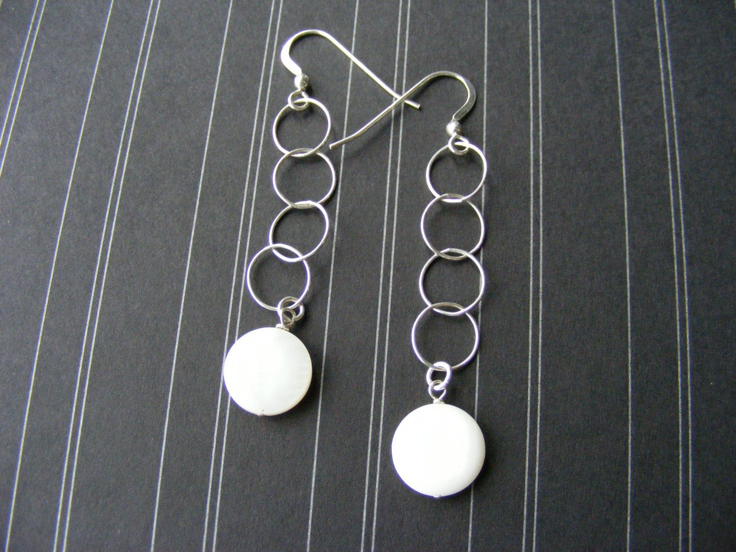 Whirly Girl Earrings with available matching necklace
