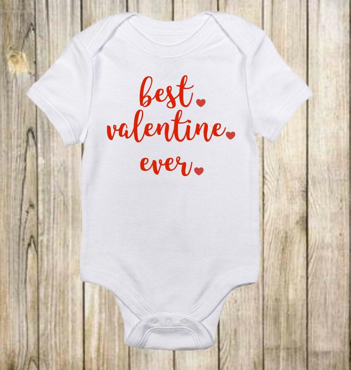 Valentine day onesie | Etsy