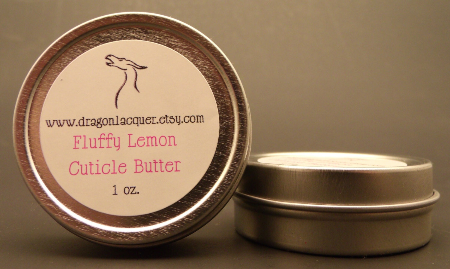 Fluffy Lemon Cuticle Butter - 1 oz
