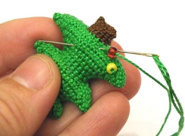 Amigurumi Jewelry Patterns : Christmas Tree - pattern for crocheted amigurumi ...