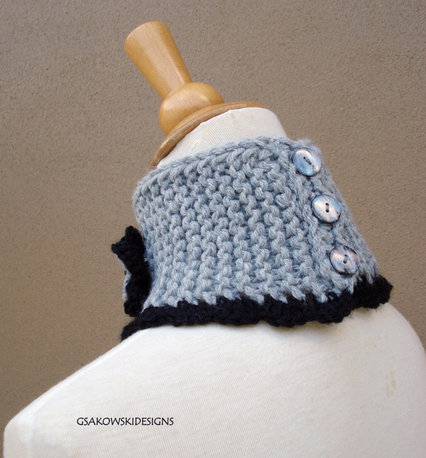 HOLIDAY SALE Maxine Cowl- Grey