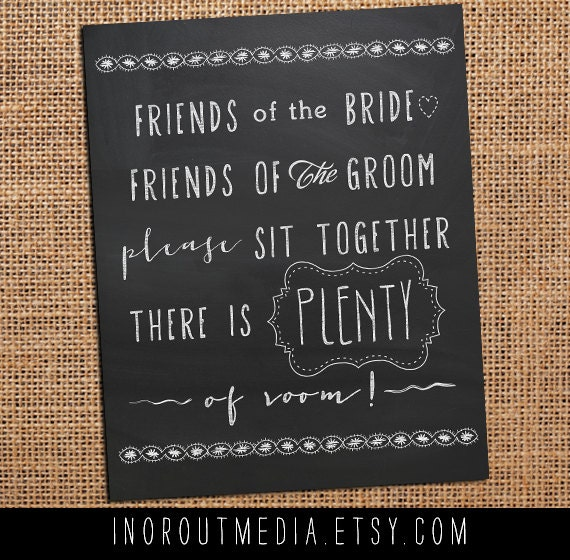 Chalkboards For Weddings: Items Similar To Rustic Wedding Chalkboard Sign