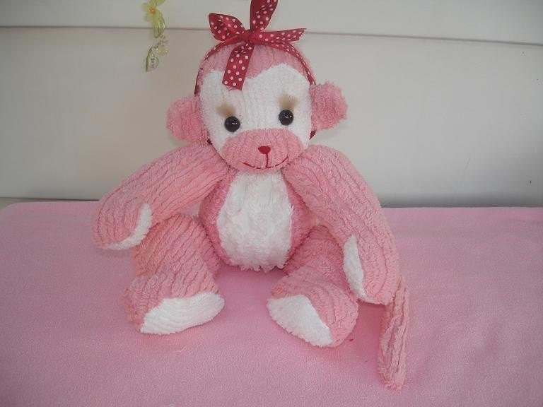 Vintage Jointed Baby Monkey Pattern as a PDF File