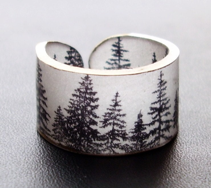 Forest Ring - Choose Your Size