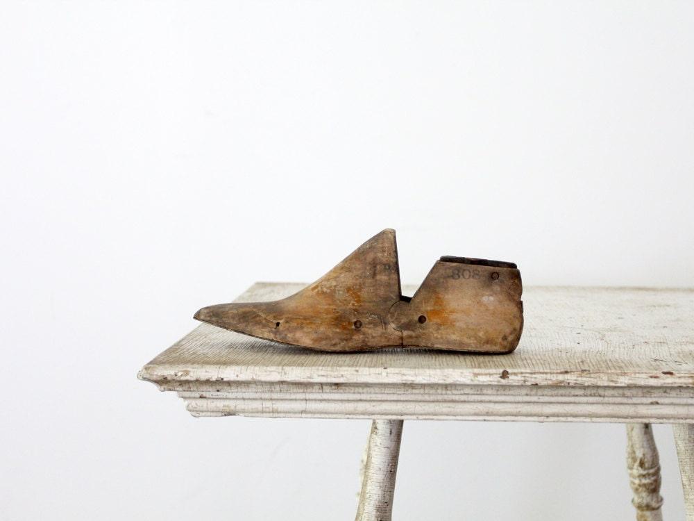 Antique Shoe Form / Cobblers Foot Form - 86home
