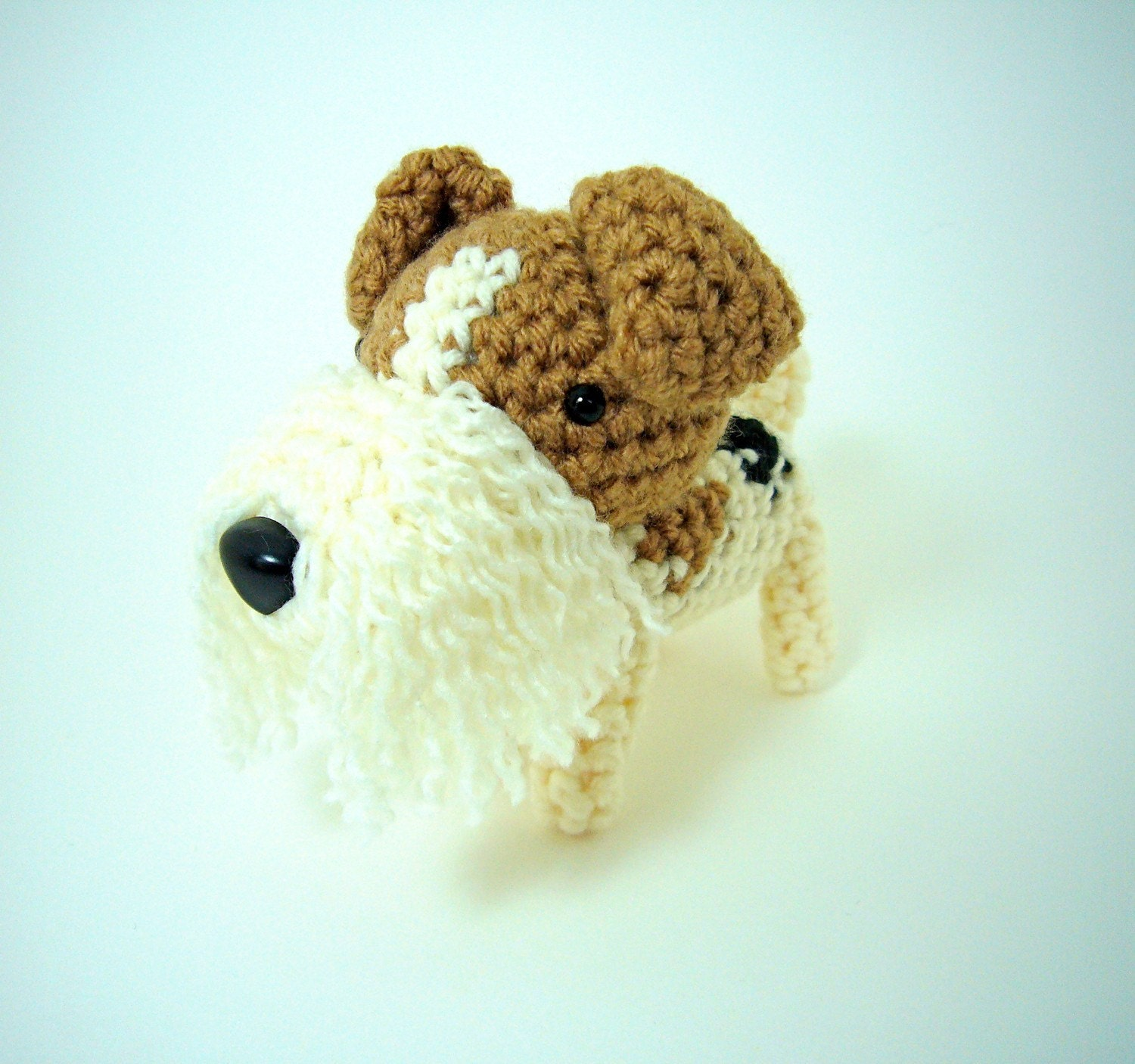 Handmade Inugurumi Dog -- Wire Fox Terrier