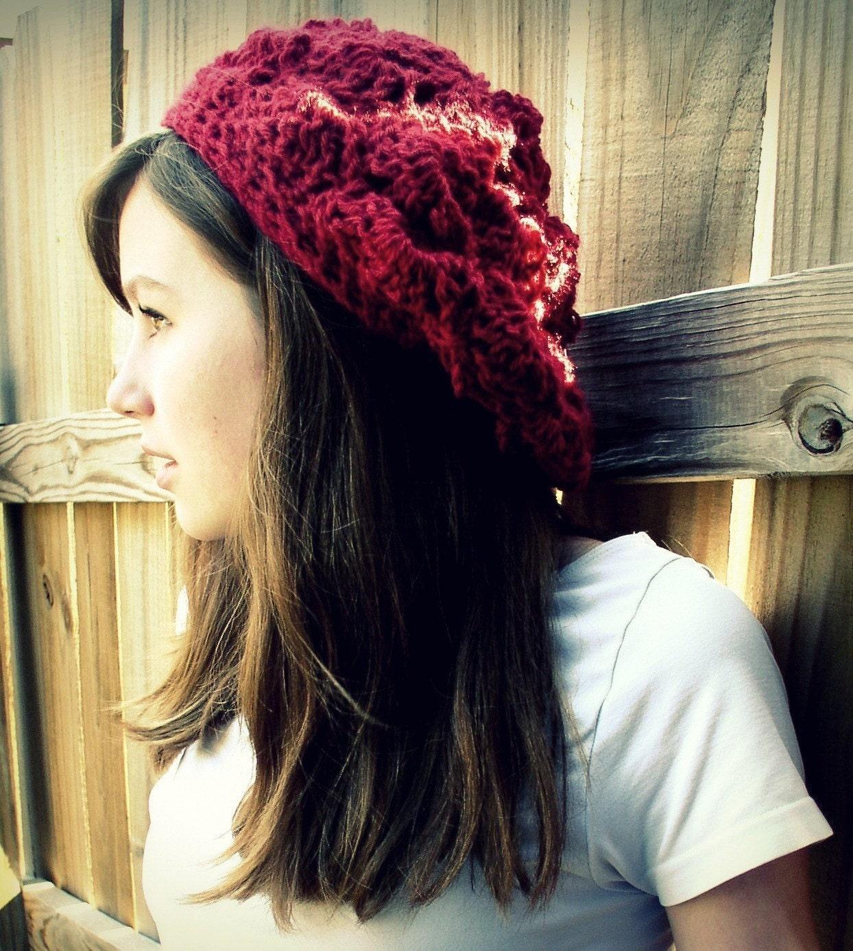 Tam Beret Hat -You Pick Color-