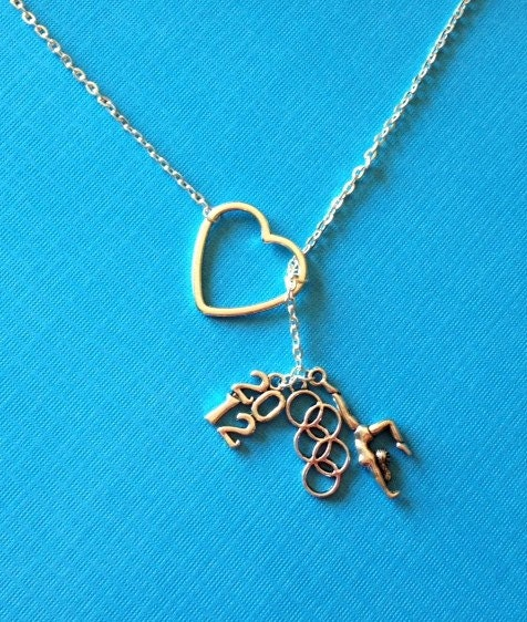 2012 olympic rings gymnastics charm by melissamarierussell