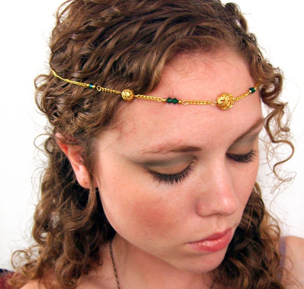 Gold Princess Halloween Circlet