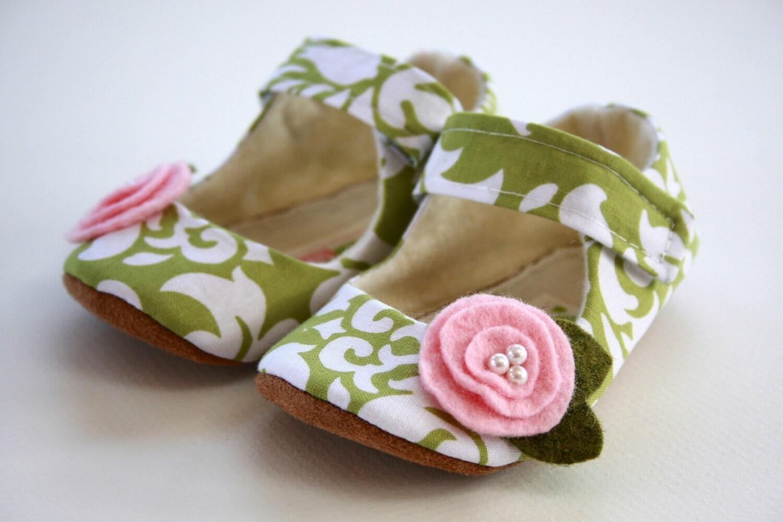 елегантни бебешки обувки за момиче - Maryjane