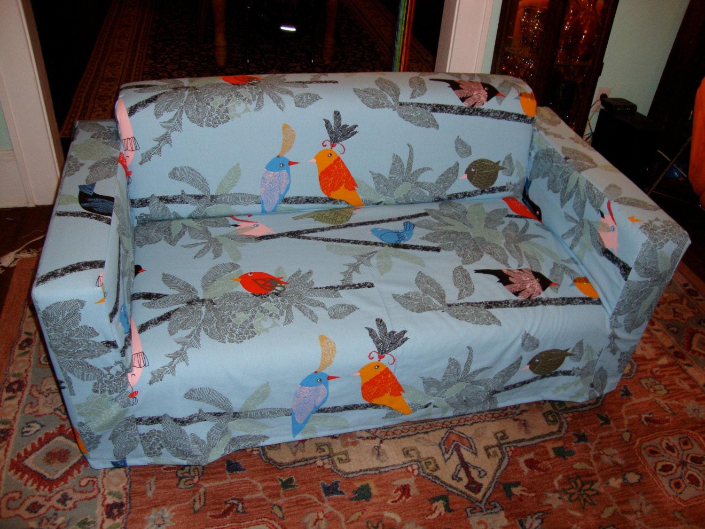 Items Similar To Custom Made Ikea Klobo Love Seat Sofa Cover Slipcover On Etsy
