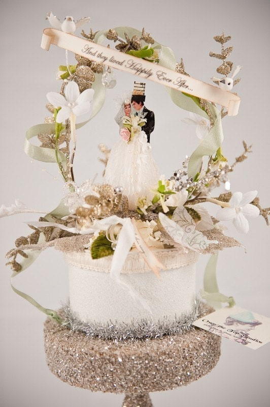 And they Lived Happily Ever After - Wedding Topper - WT002
