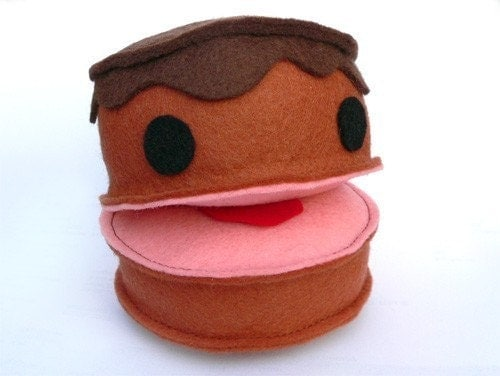 cake food sewing pattern