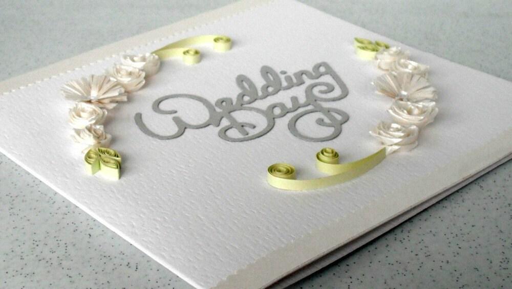 Quilling свадьбы карты, поздравления, покрытый перьями, открытки ручной работы