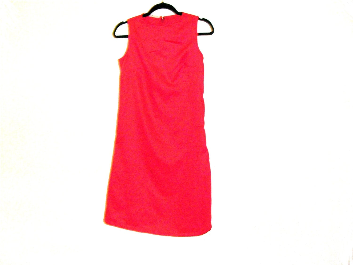 Red Dress Slip Dress Cotton Dress Womens Dress Size 8 Size 6 By Rebeccas Clothes