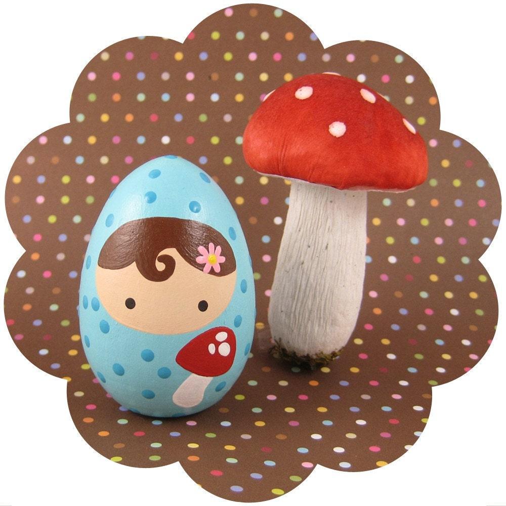 Wee Woodland Mushroom Girl