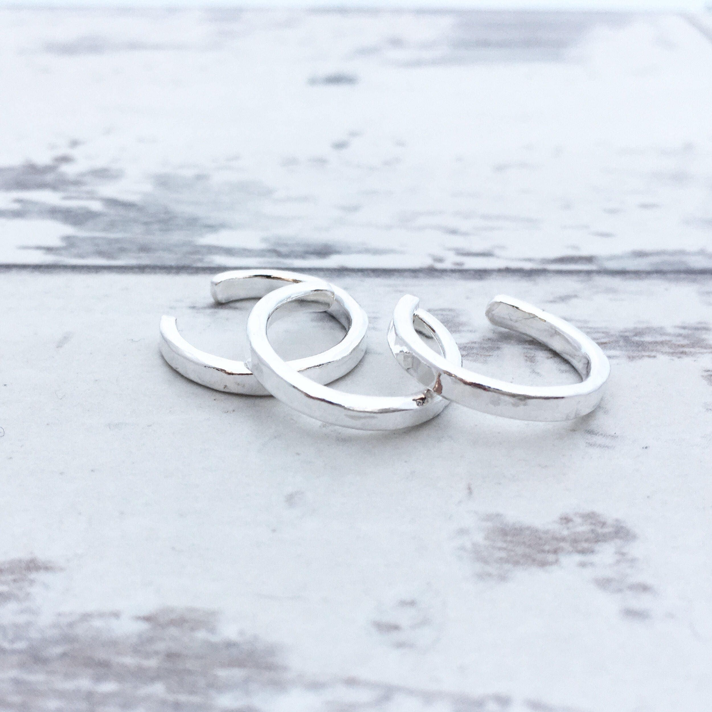 Toe Ring Sterling Silver Toe Ring Hammered Silver Toe Ring Summer fashion Body Jewellery Boho Jewellery Adjustable Silver Toe Ring