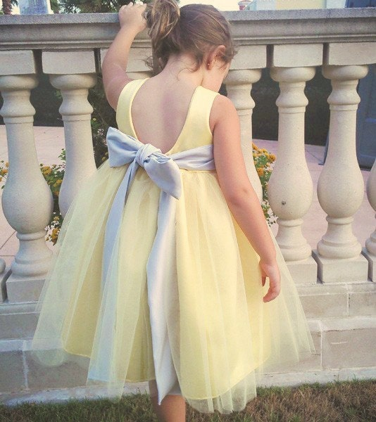 Yellow Dress By OliviaKateCouture On Etsy