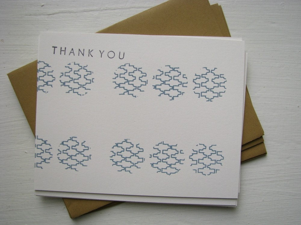 il 430xN.41574294 Etsy Round Up   Thank You Cards, part 2