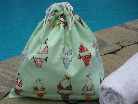 Wet Bag in Honeydew Bikini Line