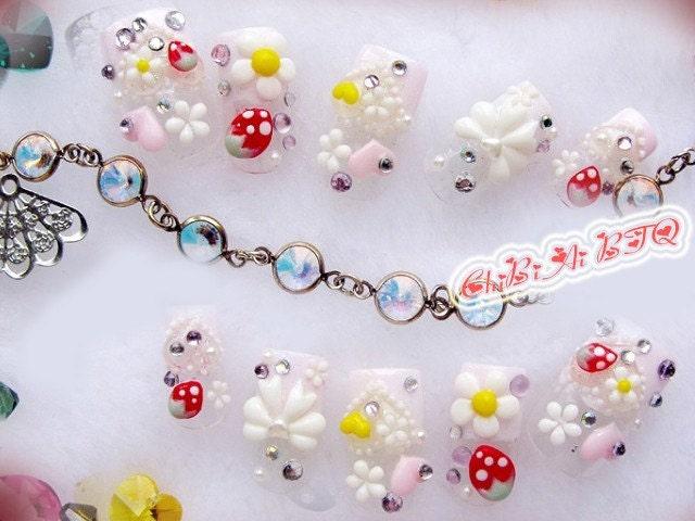 Lovely Spring Nail Art Set 10 (P00182)