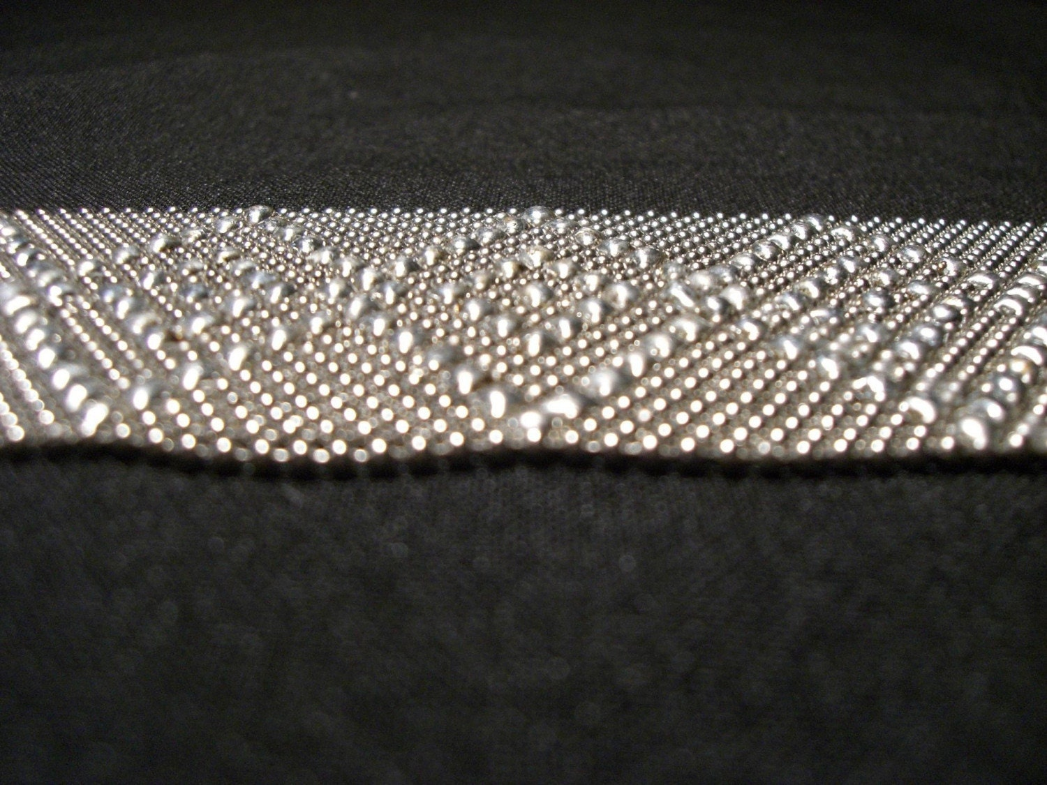 Soldered Chain Mesh Bracelet 9 by KarenOlwenDesigns on Etsy