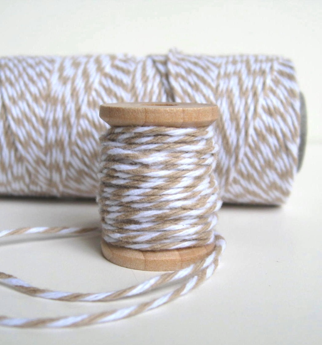 Krazy for Kraft Trendy Twine, 5 Yd Spool - Pairs Nicely with Stampin Up Crumb Cake