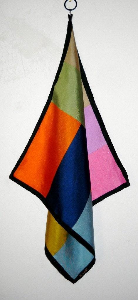 Vintage Dumont Italian Silk Scarf by ChanteeB on Etsy Vintage Italian Silk Scarves