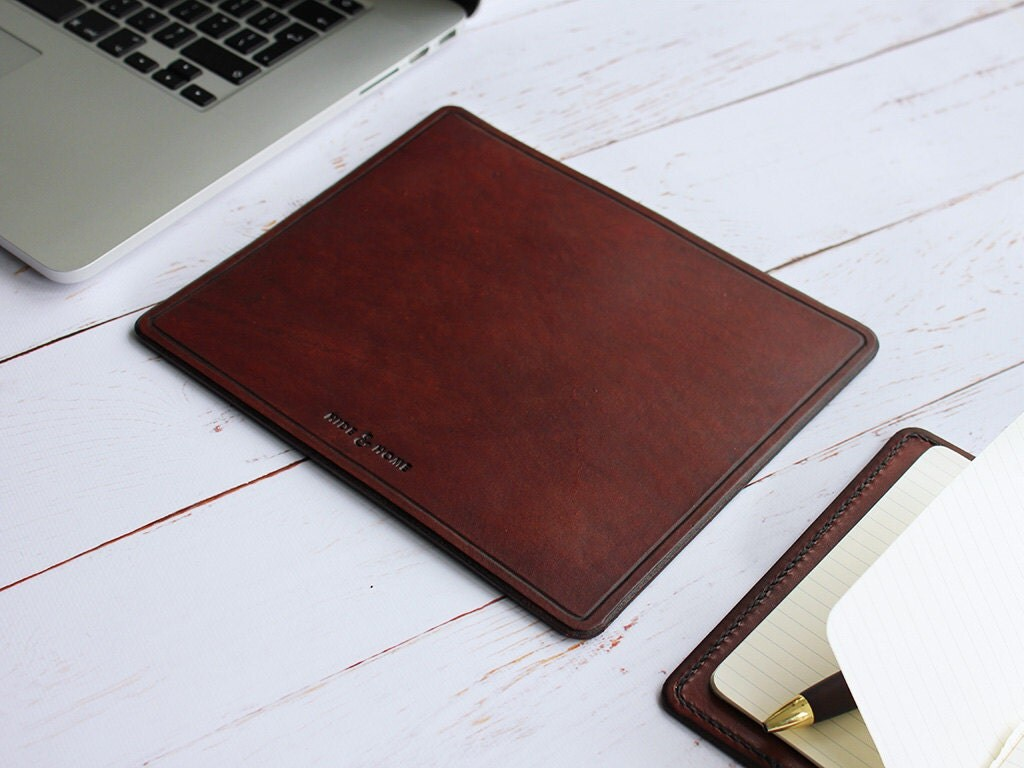 Classic Handmade Leather Mouse Mat