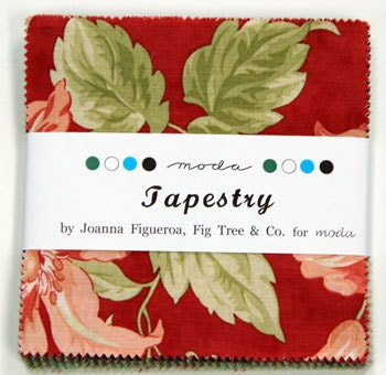 1 Moda Charm pack in Tapestry by Fig Tree & Co.