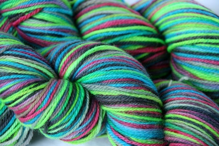 Variegated Sock Yarn - Berlin, Germany