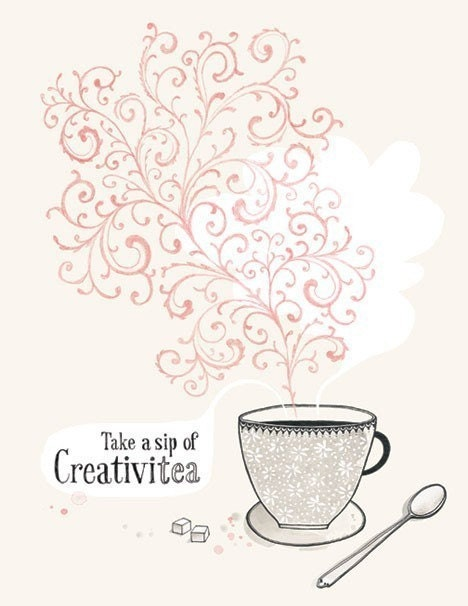 A Sip of Creativitea - 8.5X11