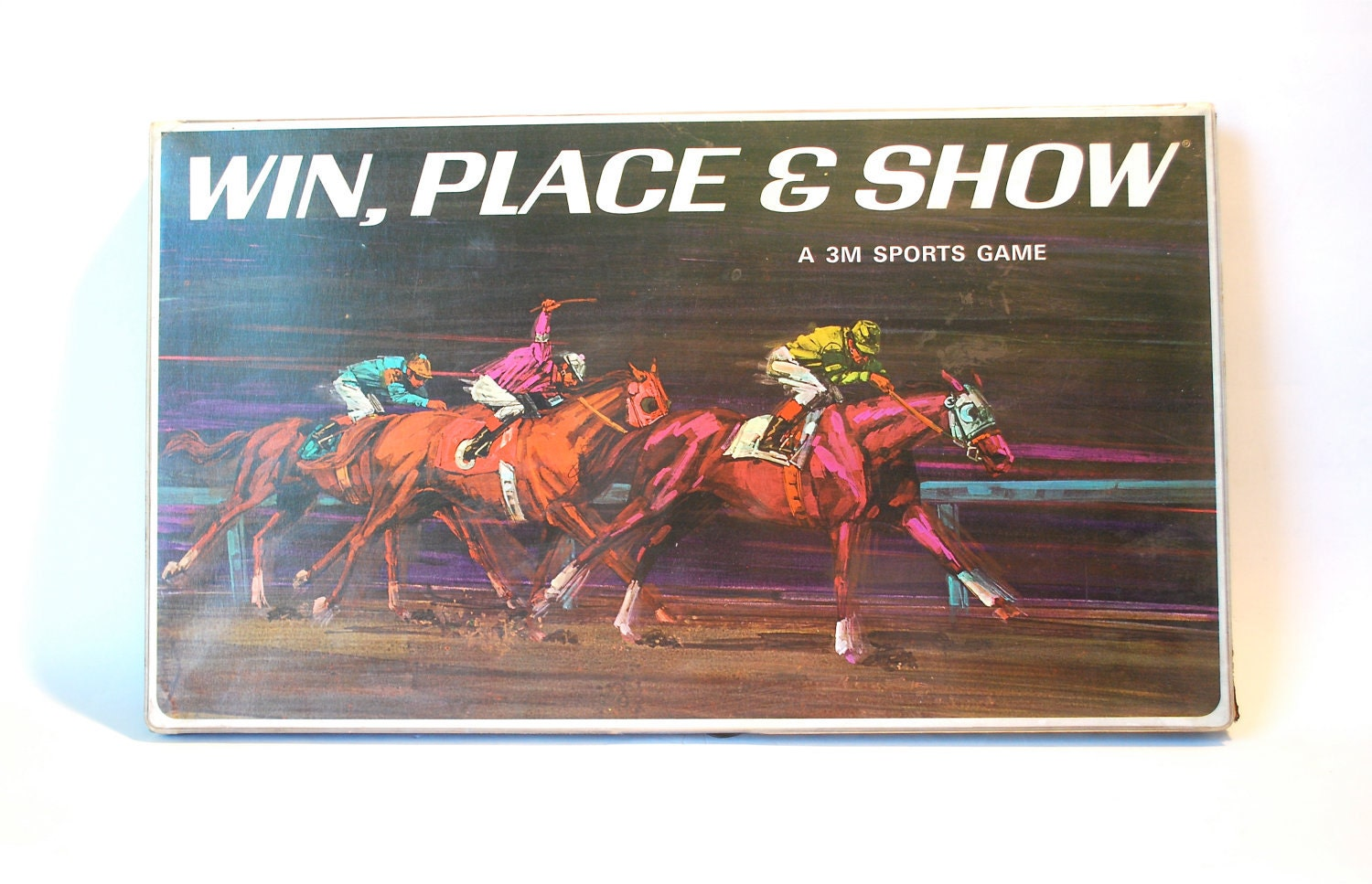 win place show horse racing game