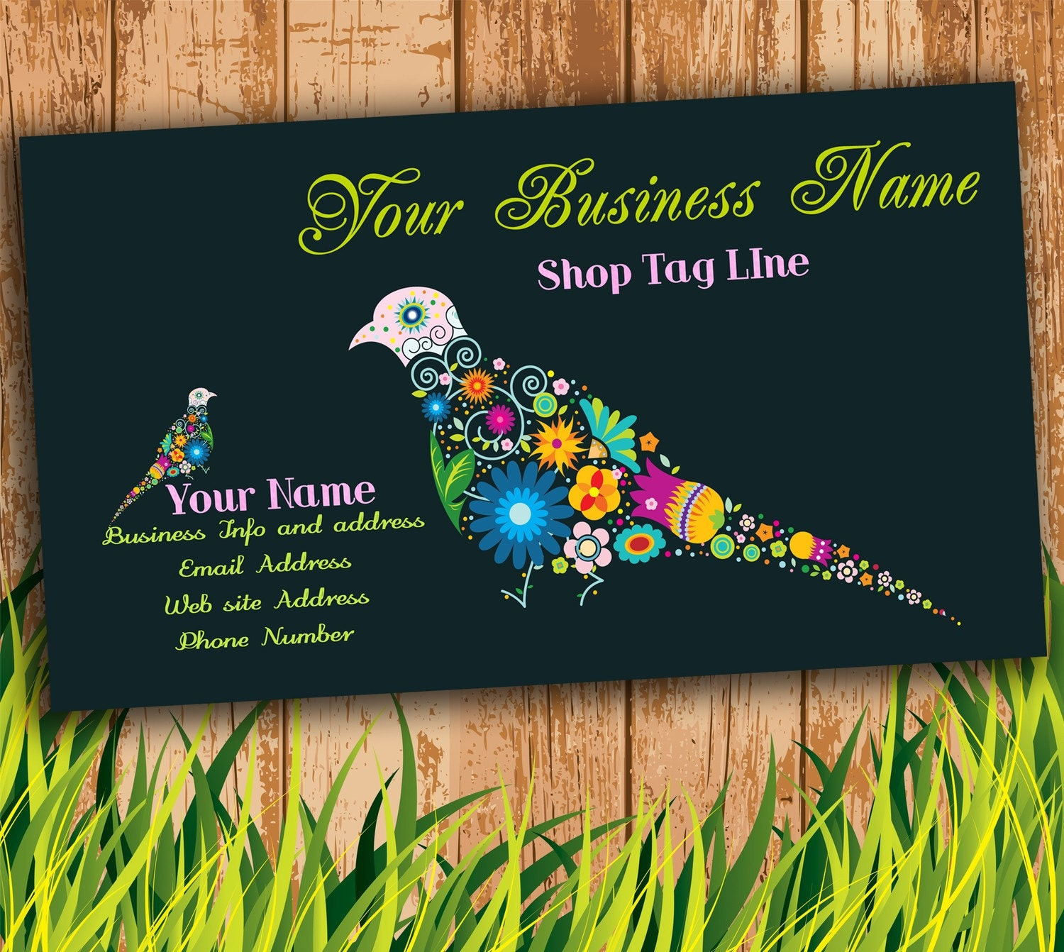 Nikki Makes Scents (sometimes): Funky Business Cards